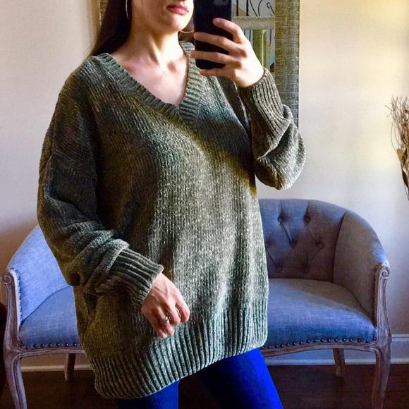 🎁✨LAST 3✨Oversized Velvet Yarn Sweater bcd1c6e88